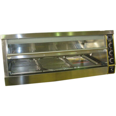 Vitrina calda expunere produse pui Model KFC, 1500x650mm