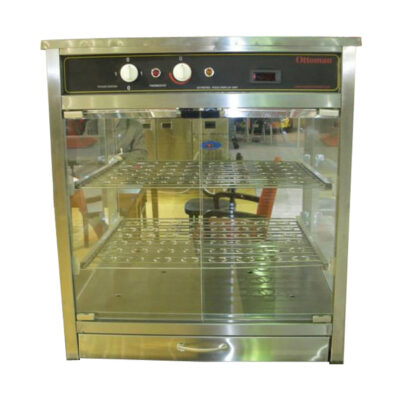 Vitrina calda expunere pizza, 600x600mm