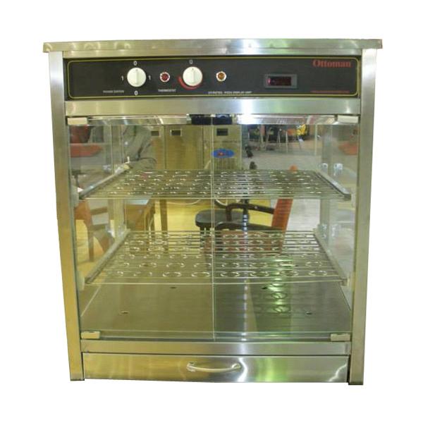 Vitrina calda expunere pizza, 600x600mm