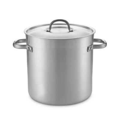 Oala din aluminiu cu capac, 33.6 litri