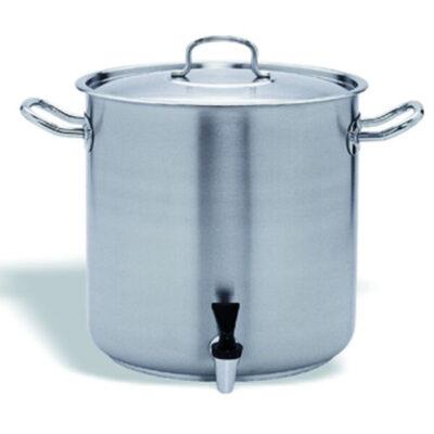 Oala cu robinet si capac, 72 litri