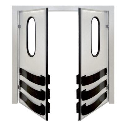 Usa dubla batanta de separare a camerelor frigorifice, 1200x1800mm