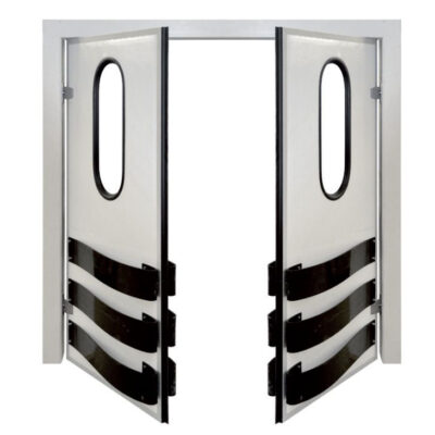 Usa dubla batanta de separare a camerelor frigorifice, 1800x2000mm