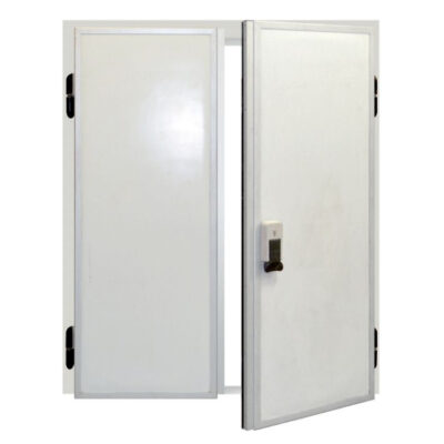 Usa dubla batanta pentru camera frigorifica, 1200x1800mm