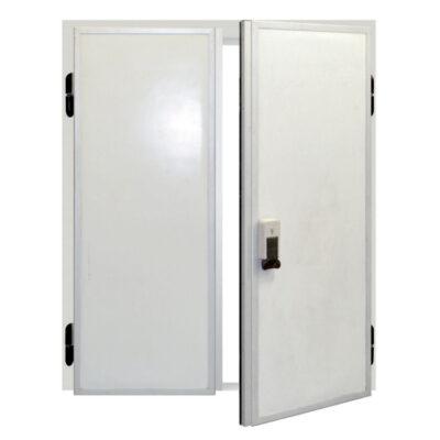 Usa dubla batanta pentru camera frigorifica, 1200x2000mm