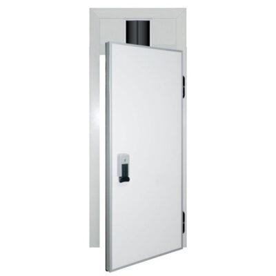 Usa cu balamale pentru camera frigorifica, cu dispozitiv de trecere 800x1800mm