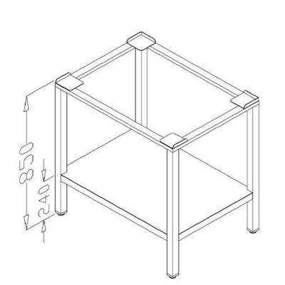 Suport cuptor, 1000x550mm