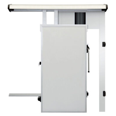 Usa glisanta pentru camera frigorifica, cu dispozitiv de trecere 800x1800mm