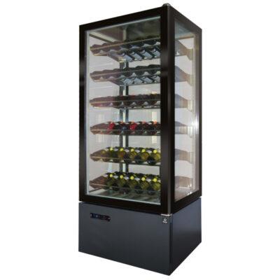 Vitrina frigorifica pentru vin, 72 sticle