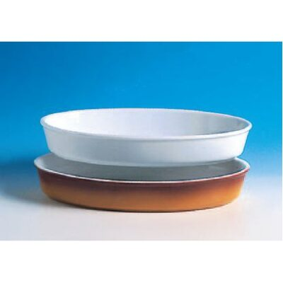 Vas oval colorat 34x20cm