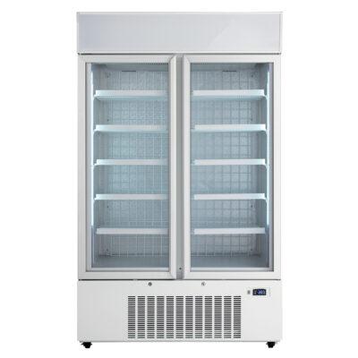 Vitrina congelare cu usi din sticla, 880 litri