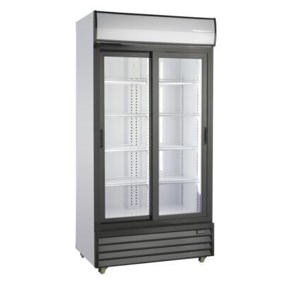 Vitrina frigorifica cu usi culisante din sticla, 800 litri