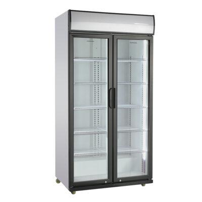 Vitrina frigorifica cu usi din sticla, 590 litri