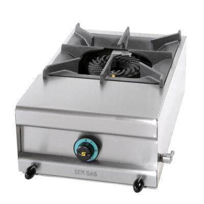 Masina de gatit pe gaz cu 1 arzator, 390x600x250mm