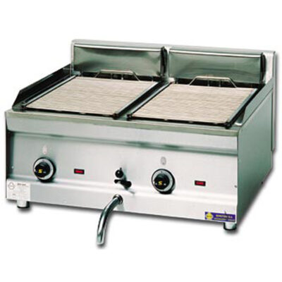 Grill multivapor electric cu 2 zone de gatit