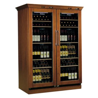 Vitrina frigorifica pentru vin, 355+355 litri