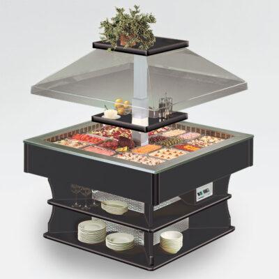 Bufet refrigerat, 1400x1400mm