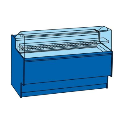 Vitrina frigorifica pentru cofetarie/patiserie PARTY 2160mm