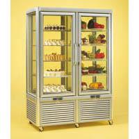 Vitrina refrigerare/congelare pentru cofetarie/gelaterie, 1270x690mm