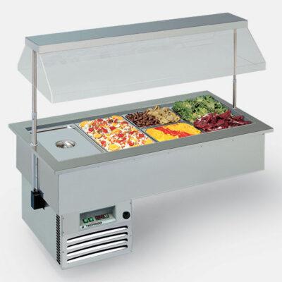 Bufet refrigerat incastrabil, 2062x749mm