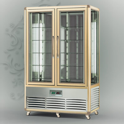 Vitrina frigorifica verticala pentru cofetarie SNELLE 700 Q
