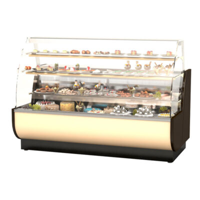 Vitrina frigorifica pentru cofetarie WIEN, 1310mm