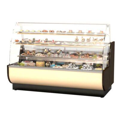 Vitrina frigorifica pentru cofetarie WIEN, 2560mm