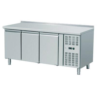 Masa frigorifica cu 3 usi si rebord, 1795x700mm