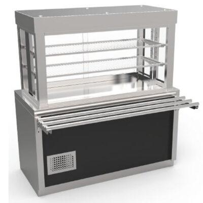 Vitrina frigorifica 1300x750x1600mm
