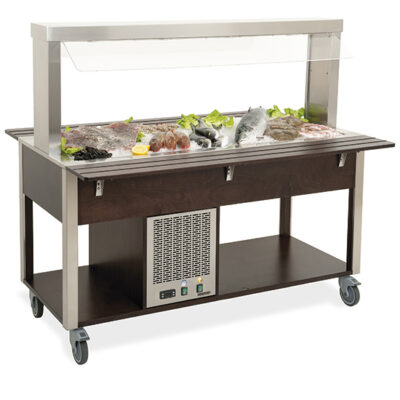 Bufet frigorific mobil, 1610mm