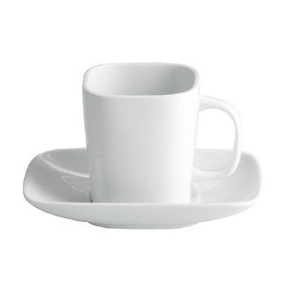 Ceasca pentru cafea cu farfurie, 90ml