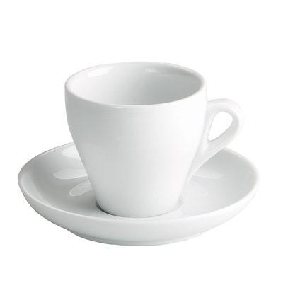 Ceasca pentru cafea cu farfurie 7.5cl ROMA