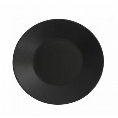Farfurie intinsa 27cm THE RESERVE-neagra