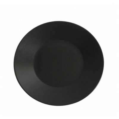 Farfurie intinsa 25cm THE RESERVE-neagra
