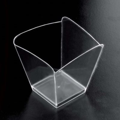 Set 25 boluri transparente ONDA  FINGERFOOD, 95ml