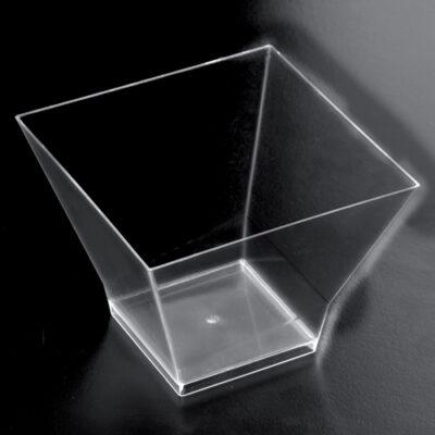 Set 25 boluri transparente PAGODA  FINGERFOOD, 120ml