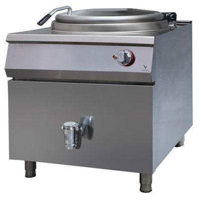 Marmita electrica cu incalzire indirecta, 80 litri