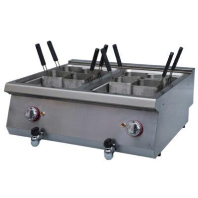 Masina electrica de gatit paste, 13+13 litri