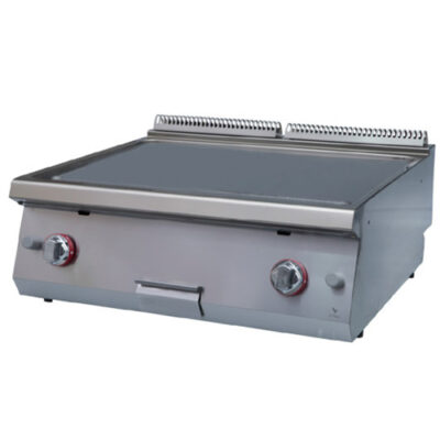 Fry top electric cu suprafata neteda, 800x920x280mm