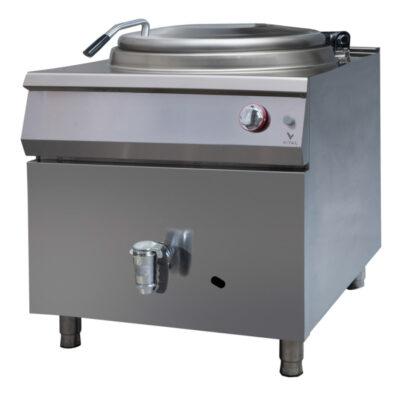 Marmita pe gaz cu incalzire directa, 150 litri