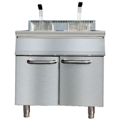 Friteuza pe gaz 20+20 litri